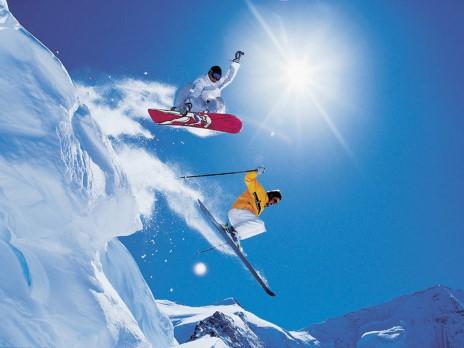 Снежно великолепие - Франция и Швейцария